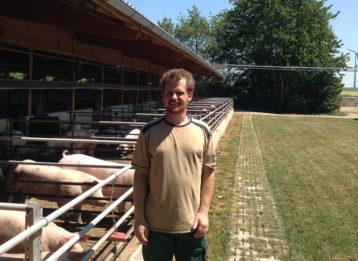Landwirt Kussel Initiative Tierwohl