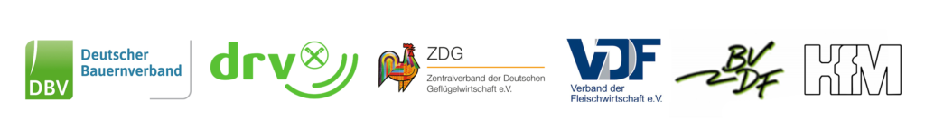 Logos Gesellschafter  der Initiative Tierwohl