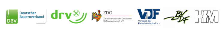 Logoleiste Gesellschafter Initiative Tierwohl