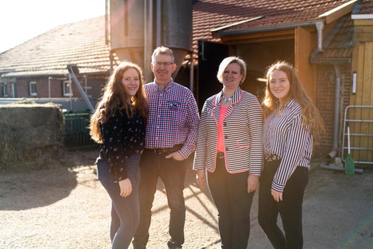 Heinz Hackmann und Familie