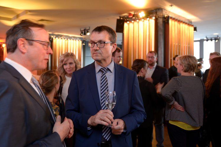 Prof. Folkhard Isermeyer, Dr. Christian Bock (Landwirtsch. Rentenbank)