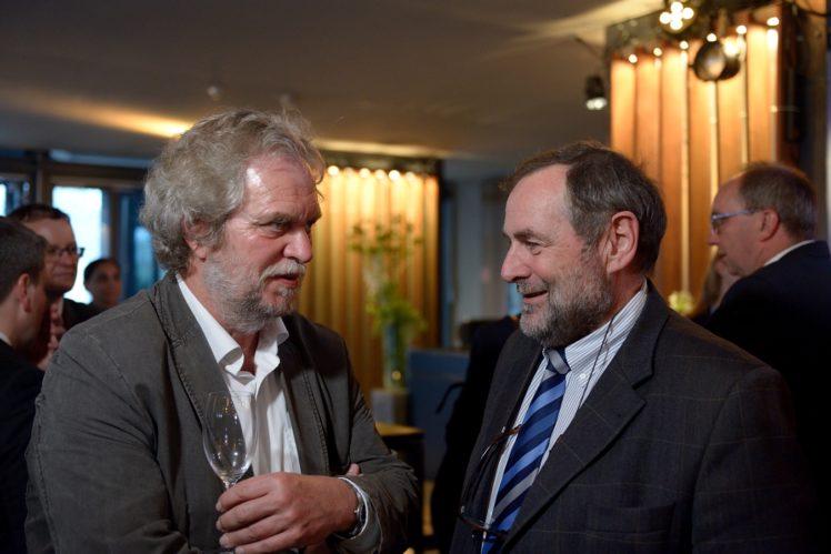 Prof. Joachmim Krieter, Dr. Friedhelm Adam (Landwirtschaftskammer NRW)