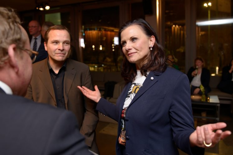 Rainer Münch (Agra Europe), Gitta Connemann (CDU, CSU)