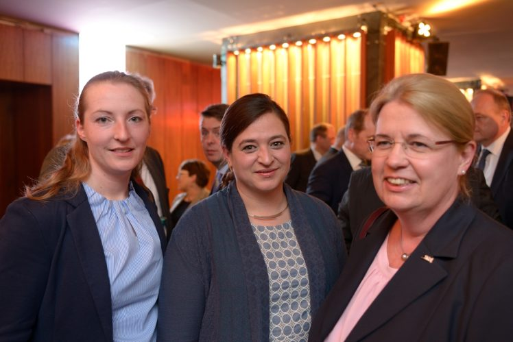 Tine Matt (LC), Heidrun Klockgether (SGS)