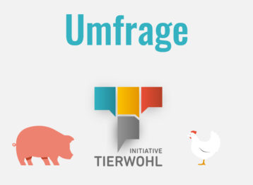 Umfrage Initiative Tierwohl 2019 Grafik