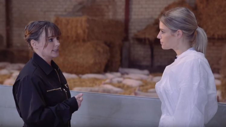 Gabriele Mörixmann und Vanessa Mesinger im Aktivstall