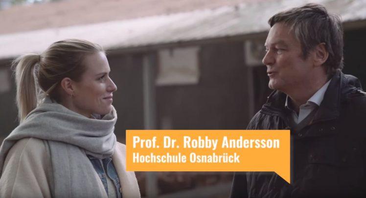 Im Gespräch: Vanessa Meisinger und Prof. Dr. Robby Andersson